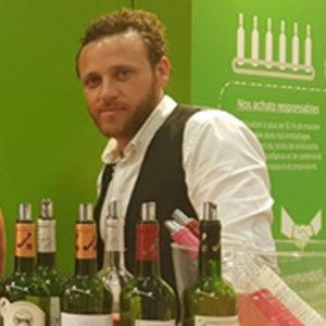 Mathieu BERALDO, BTSA Technico-commercial de la MFR de Vayres, employé de chai aux caves de rauzan8