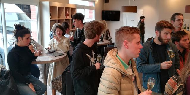 Voyage d'étude des bts viti-oeno en champagne