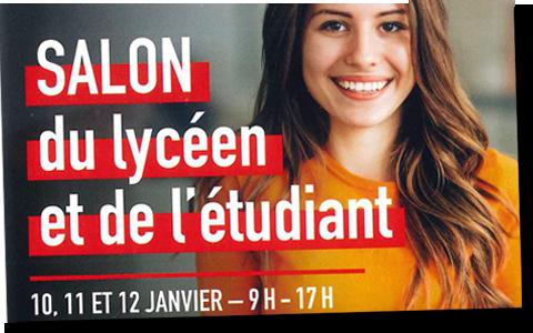 La MFR de Vayres vous informe sur les formations au salon de l'étudiant à Bordeaux, les 10,11 et 12 janvier 2020